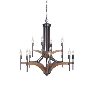 Gracie Oaks Polen 12-Light Chandelier