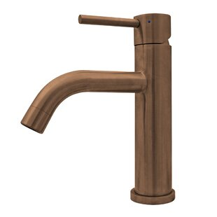 Whitehaus Collection Waterhaus Elevated Lavatory Single Hole Bathroom Faucet with Drain Assembly