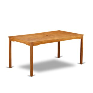 Deonte Wooden Dining Table