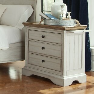 Highland Dunes Allgood 3 Drawer Nightstand