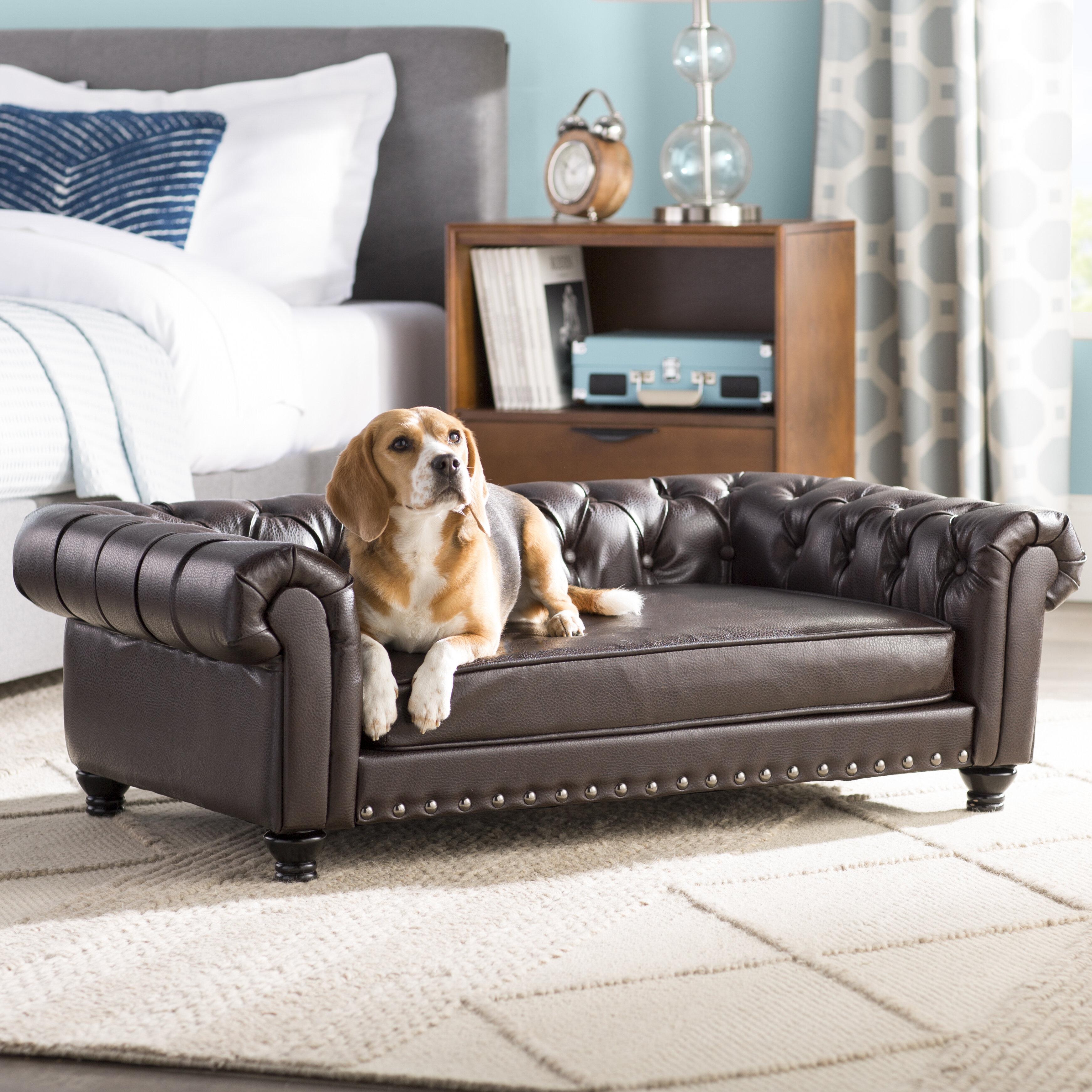 Archie U0026 Oscar Cornelia Dog Sofa With Solid Foam Cushion U0026 Reviews | Wayfair