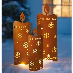 3 Piece Outdoor Pathway Light Set By The Seasonal Aisle