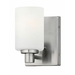 Rumsey 1-Light Bath Sconce by Latitude Run