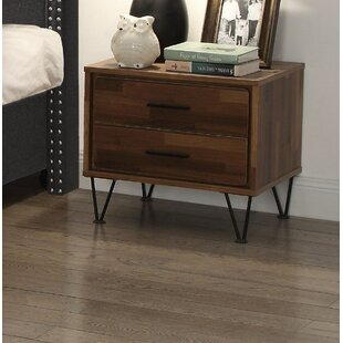 Layne 2 Drawer Nightstand by Wrought Studio