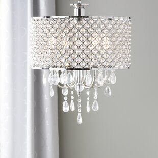 Crystal Orb Chandelier Wayfair - Orb chandelier with crystals