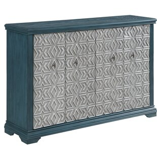Bungalow Rose Pyne 4 Door Accent Cabinet