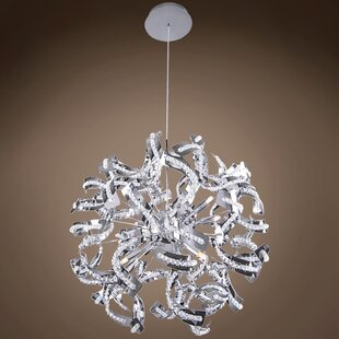 Best Review Montross 12-Light Globe Chandelier By House of Hampton