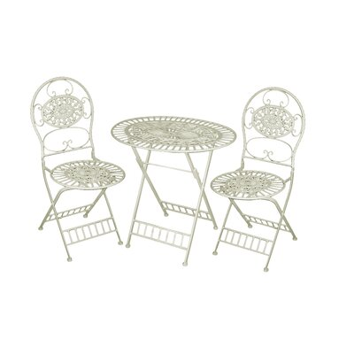 Bylar 3 Piece Bistro Set by Charlton Home #2