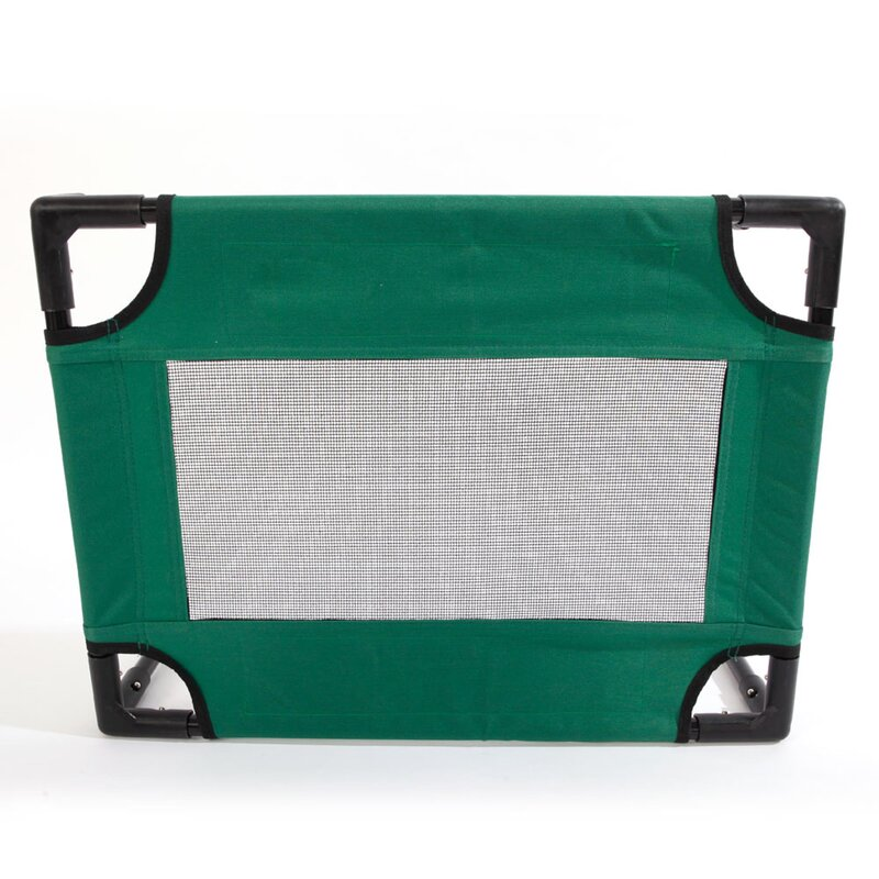 Access Control Detachable Assembly Style Breathable Pet Steel Frame Camp Bed S Green Security & Protection