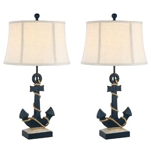 Resendez Anchor Coastal 31 Table Lamp (Set of 2)