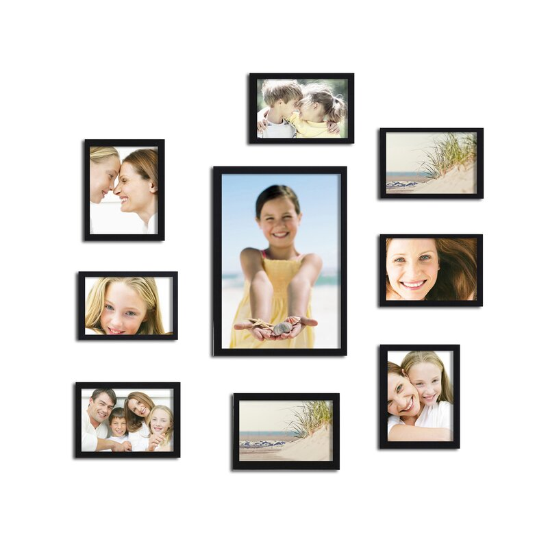 AdecoTrading 10 Piece Collage Picture Frame Set & Reviews | Wayfair