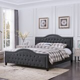 Pierce Upholstered Platform Bed by Darby Home Co