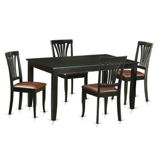 Dudley 5 Piece Dining Set by Wooden Importers #1