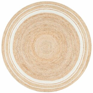 Lerma Beige/Bleached Area Rug by Breakwater Bay