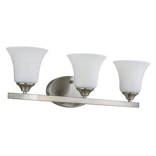 Bakke 3-Light LED Vanity Light by Charlton Home