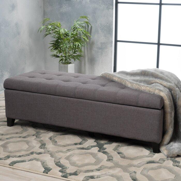 Enjoyable Ledger Tufted Storage Ottoman Andrewgaddart Wooden Chair Designs For Living Room Andrewgaddartcom