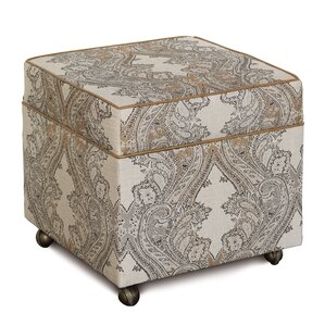 Aiden Storage Box Ottoman by Eastern Accents