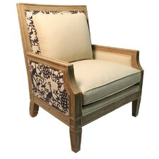 Marigold Linen Armchair by One Allium Way