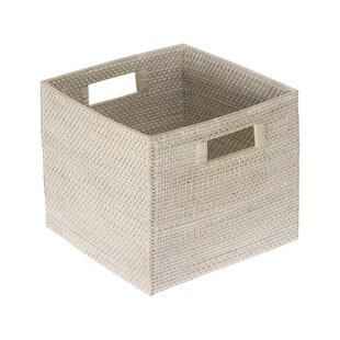 "Wardrobe Shelf Living Room Grey Playroom Closet Office 12.6/"" X 8.6/"" X 5.5/"" iLoft Rectangle Toy Storage Basket Decorative Fabric Bin for Home"