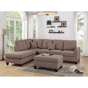 Lieber 3 Piece Living Room Set