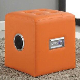 A&J Homes Studio Gabrielino Sound Lounge Cube Ottoman