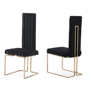 Jayleen Solid Back Side Chair (Set of 2) Willa Arlo Interiors