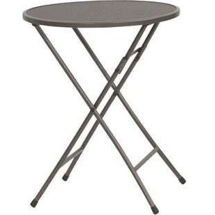 Colbin Folding Steel Bistro Table By Sol 72 Outdoor