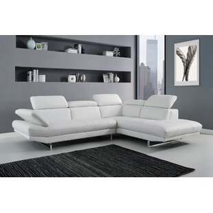 Carner Leather Sectional