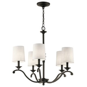 Berkeley 5-Light Shaded Chandelier