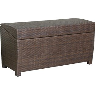 Gentil Managua Wicker Storage Bench