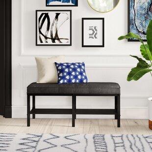 Zona Upholstered Storage Bench Mercury Row