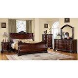 Yancey Queen Sleigh 5 Piece Bedroom Set by Astoria Grand