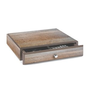 Darby Home Co Beaumys Stacking Wood Desk Organizers Supply Drawer