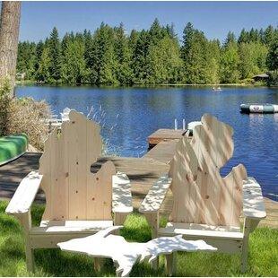 Winon Solid Wood Adirondack Chair by Loon Peak