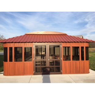 Aspen 19 Ft. W x 11 Ft. D Solid Wood Patio Gazebo by Westview Manufacturing