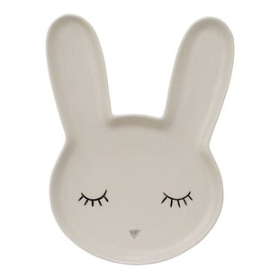 Markus Ceramic Bunny Decorative Plate