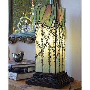 Lavish Vine Filigree Tiffany 17.63″ Table Lamp