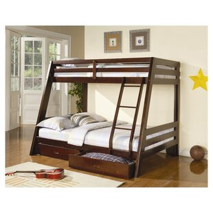 Mullin Twin over Full Bunk Bed with Storage by Wildon Home®