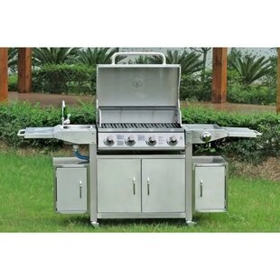 Marisela Portable Electric Barbecue With Sink And Faucet By Sol 72 Outdoor