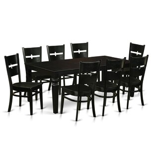 Delbarton 9 Piece Dining Set Latitude Run