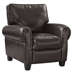 Modway Leader Leather Manual Recliner