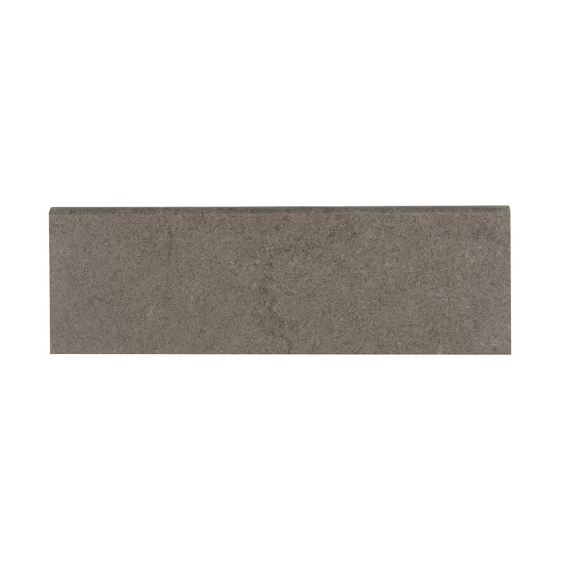 MSI Dimensions Gris X Porcelain Bullnose Tile Trim In Gray - Bullnose tile sizes