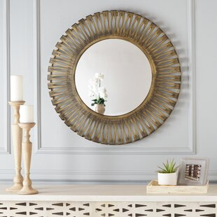 Completely new Round Mirrors You'll Love | Wayfair FD97