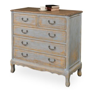 Reviews Handao 5 Drawer Accent Chest By Sarreid Ltd