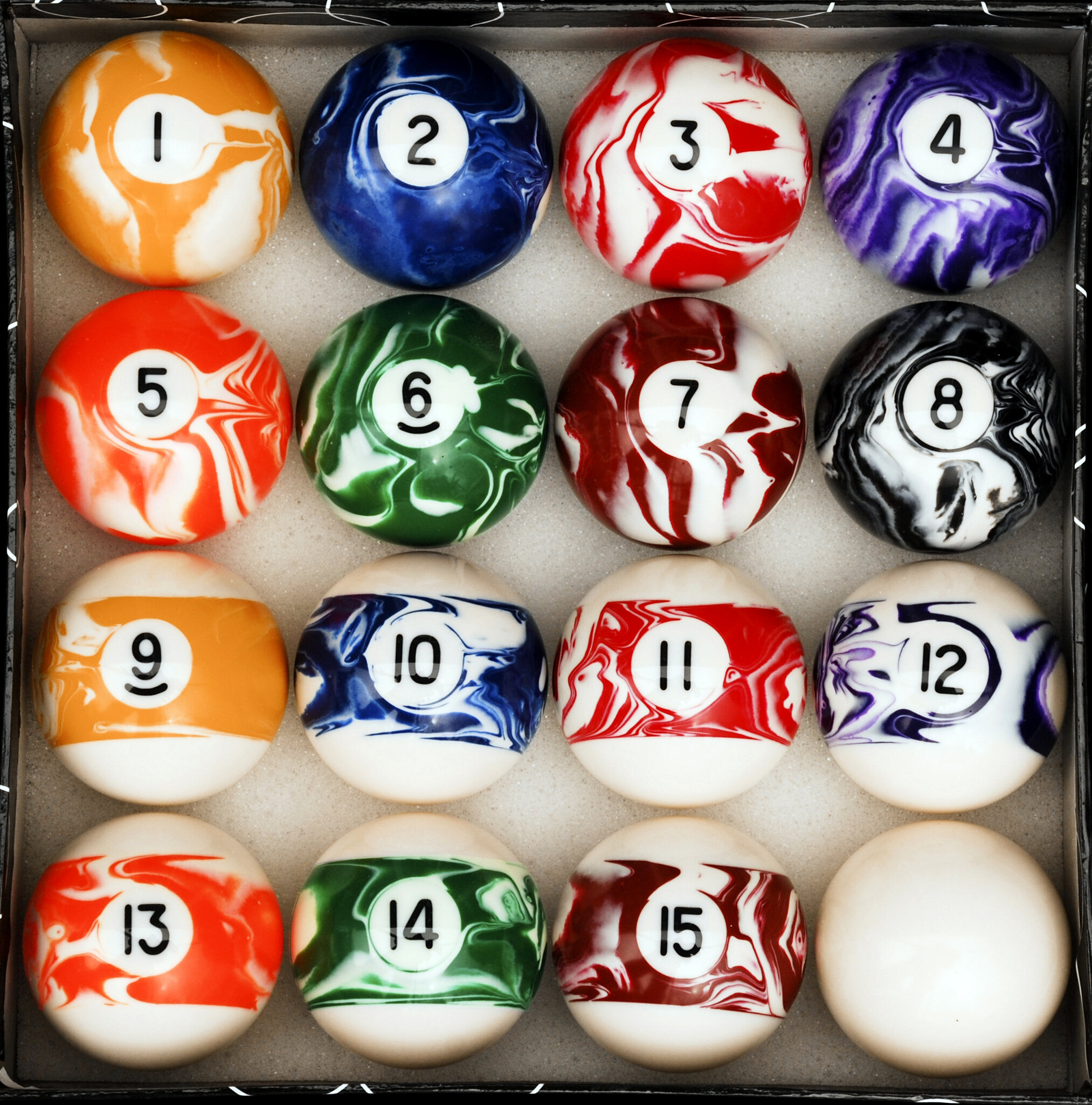 """POOL 16 BALL TRAY...""""2"""" """"2 1//4..FREE DELIVERY... BALLS NOT INCLUDED!"""