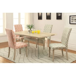 Ferndown 5 Piece Dining Set by Highland Dunes