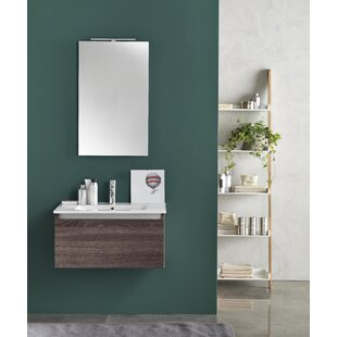 Tuvalu 4-Piece Bathroom Furniture Set With Mirror And Tap By Ebern Designs