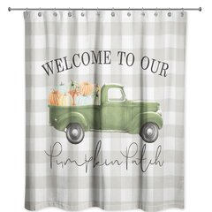 Thanksgiving Shower Curtains Shower Liners You Ll Love In 2021 Wayfair