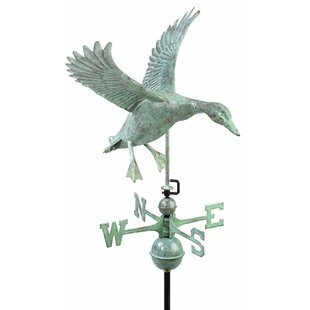 Landing Duck Weathervane By Good Directions