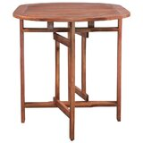 Evynne Folding Wooden Garden Table